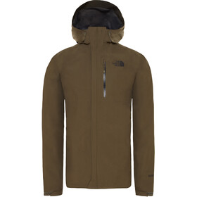 The North Face Dryzzle Jacket Men new taupe green